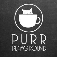 cat cafe logo - Google Search