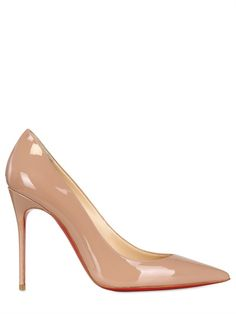 Serious business: Christian Louboutin pointy pumps.