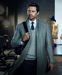 Hugh Jackman for Montblanc Campaign DOES ANYBODY KNOW WHAT COAT THIS IS???? I have to know!!! :)