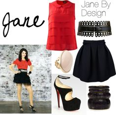 """""""Jane By Design"""" by duckduckboot on Polyvore"""