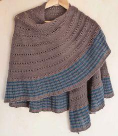MES FAVORIS TRICOT-CROCHET: Modèle tricot gratuit : Le châle Mizzle