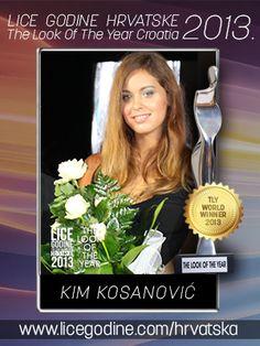 Lice Godine Hrvatske 2013. Kim Kosanovic