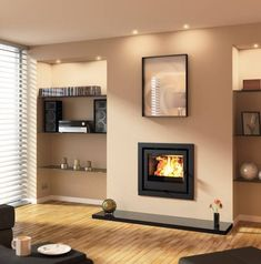 Image result for acr tenbury inset se multifuel/woodburning stove raised off the ground