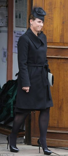 Princess Martha Louise of Norway leaves the funeral service for the deceased Prince Richard of Sayn-Wittgenstein-Berleburg  at the Evangelische Stadtkirche