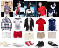 """One Direction outfit for girls"" by alwaysloveonedirection ❤ liked on Polyvore"