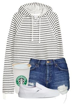 """☕️"" by alliquick ❤ liked on Polyvore featuring Topshop and Vans"