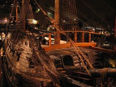 Deck of the Vasa