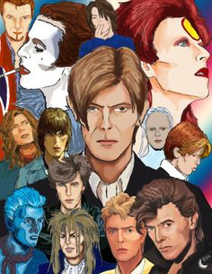 ChangesBowie Poster by ~silvermoon822 on deviantART