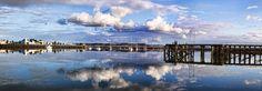 """Port Augusta Reflections"" -photo by Georgie Sharp, via Flickr;  in South Australia, Australia"