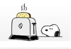Time for Toast Snoopy Cartoon, Food Cartoon, Snoopy Love, Snoopy And Woodstock, Pop Up Toaster, Peanuts Snoopy, Peanuts Comics, Charlie Brown And Snoopy, Fun Comics