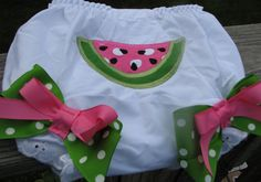 watermelon bloomers by PJQuilts on Etsy, $13,99