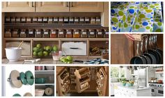 If you have problem with organizing kitchen stuff, don't worry any more. Below follow 18 diy kitchen organizing and storage projects, which will help you to solve the problems in the kitchen.