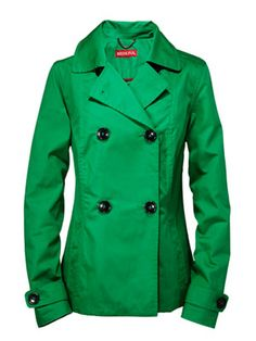 Make all those black-coat-wearers green with envy. Merona for Target jacket.