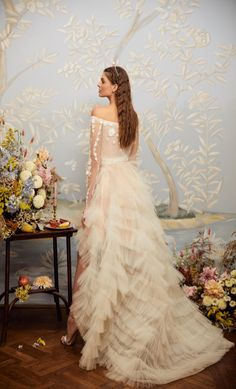 The Fable top and the Frill skirt / Nora Sarman Bridal