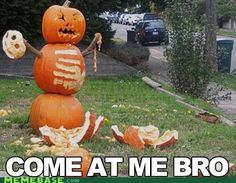 Just try and make him into a pumpkin latte.