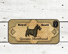 Scottish Terrier iPhone case - Scottie Dog iPhone Case - iPhone 4, 4s and iPhone 5 - Gifts Under 25. $16.00, via Etsy.