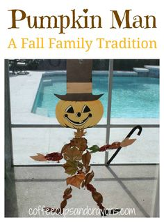 Pumpkin Man: A Fall Family Tradition from Coffee Cups and Crayons