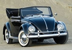 [Give me one] 1960 Volkswagen Beetle Cabrio Wolkswagen Van, Van Vw, Vw Bus, Car Volkswagen, Vw Camper, Vw Coccinelle Cabriolet, My Dream Car, Dream Cars, Volkswagen Convertible
