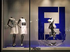 """FENDI,Tokyo,Japan,""""SLIDE OFF:to fall off a surface with a sliding or slipping movement"""", pinned by Ton van der Veer"""
