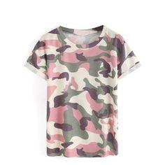 Blusa Estampa Militar Variadas - RAYLIM