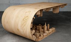 did you know? - This coffee table was inspired by the scene from...