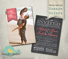 Wedding Announcement Templates Save the Date -