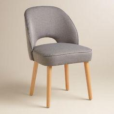 Gray Hazel Split Back Dining Chairs Set of 2 | World Market