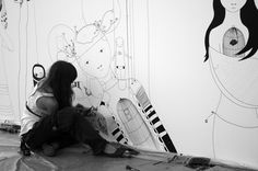 wall in swab 2012 by ivana flores, via Behance