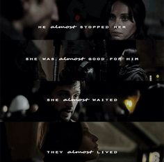 The saddest word in the whole, wide world is the word almost. | Jyn and Cassian | Star Wars | Rogue One | RebelCaptain | Instagram