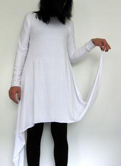 kahden sauman mekko Bell Sleeves, Bell Sleeve Top, Diy Clothes, Tunic Tops, Sewing, Pattern, How To Wear, Dresses, Tutorials