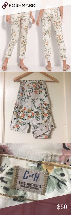 Citizens of Humanity Mandy High Waist Retro SZ 27 Citizens of Humanity Mandy High Waist Retro SZ 27 in EXCELLENT condition size 27 long similar to a 4 high waist long with a floral print Citizens Of Humanity Jeans Skinny