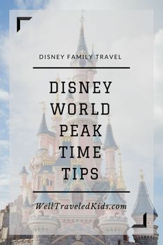 Visiting Disney at peak times? We asked Ian Ford, CEO of Undercover Tourist, to share the top tips for visiting Disney during peak times. |Top Tips and Tricks for Peak Time Visits to Disney World from Undercover Tourist CEO, Ian Ford | Tips for Disney World at Christmas | Tips for Disney World at Spring Break | Tips for Disney World Summer Vacation| Disney World, Florida, USA #disney #familytravel