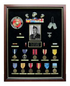 Military Shadow Boxes On Pinterest Air Force Marines