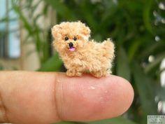 Diese kleinen gehäkelten Tiere sind so was von süß. Die möchte ich unbedingt haben! - DIY Bastelideen
