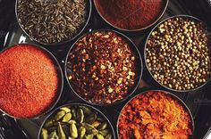 Indian spices. Food & Drink Photos