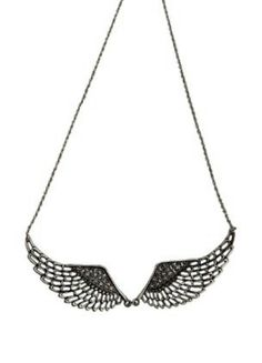 Angel wings #necklace