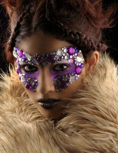Purple Gem Si-Fi  Make-up: Rebecca Yeates