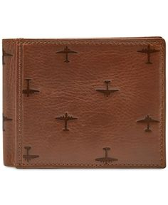 Fossil Men's Pilot Leather Bifold Wallet                                                                                                                                                                                 More