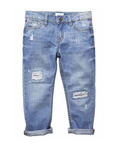 Food, Home, Clothing & General Merchandise available online! Girls Boyfriend Jeans, Mom Jeans, Kids Winter Fashion, Girls Pants, Kids Wear, Girl Fashion, Denim Shorts, Girl Outfits, Women Wear
