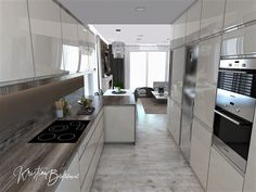 Funkčná elegancia - Dizajn kuchyne s obývačkou - Kristína Bedečová Living Room Kitchen, Luster, Home Decor, Kitchen Black, Elegant, Decoration Home, Room Decor, Kitchen Living, Home Interior Design