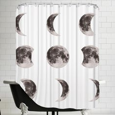 Stamant Moon Phases hower Curtain