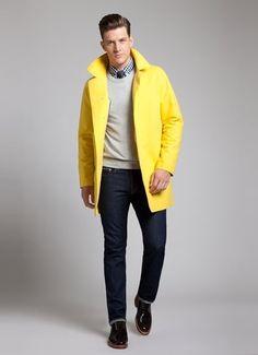 Winter color. Men's jacket.