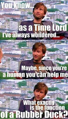 David Tennant - Doctor Who/ Harry Potter refrence!!!!!! :D awesome!<<- David... Have you been talking to Arthur Weasley again?