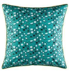 Pillowcase euro kas 65cm x 65cm cleo multi 300cc cotton new bobin boutique  A