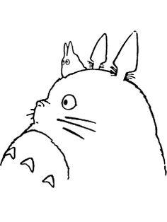 Totoro, sister tattoo! @Melanie Warner Hanks