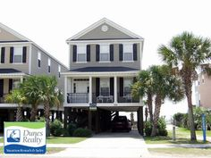 Surfside Beach Rental Beach Home: Sand Trap | Myrtle Beach Vacation Rentals by Dunes Realty