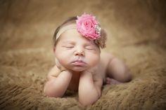 Newborn Girl Photography www.curiousgeorgi.com