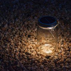 Sonnenglas – Solarlampe im Einmachglas