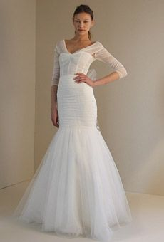 Gowns with Sleeves Gown by Monique Lhuillier $6400 ADDIE