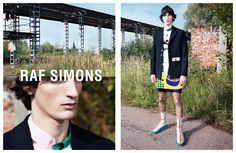 Raf Simons Spring/Summer 2014 Campaign Shot by Willy Vanderperre